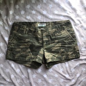 Women's Camouflage Shorts 💚